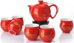 景德镇陶瓷茶具整套