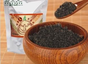 养生现磨纯熟黑芝麻粉100%正品