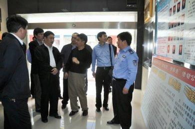 商务部市场秩序司检查湘乡市市场监管公共服务体系建设